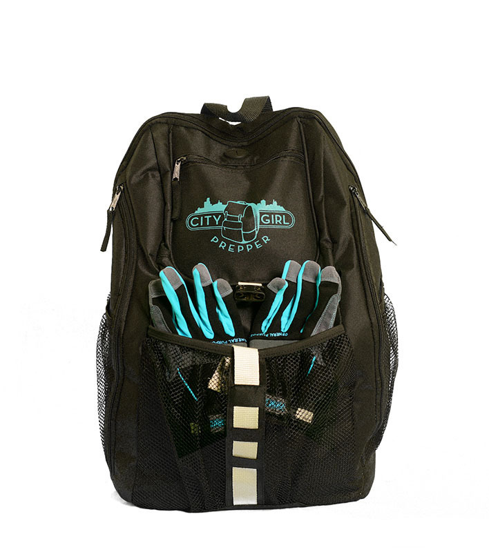 City Girl Prepper 72-Hour Survival Backpack for Women