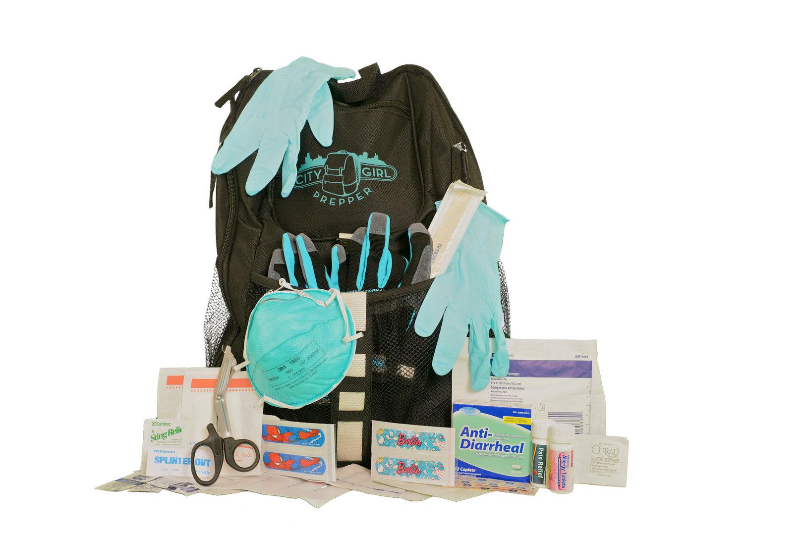 City Girl Prepper 72-Hour Survival Backpack for Women